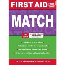 First Aid for the Match, Fifth Edition