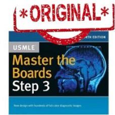 کتاب Master the Boards USMLE Step 3 4th Edition 2017 تمام رنگی اورجینال چاپ آمریکا