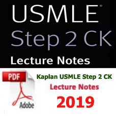 e-BOOK - Kaplan USMLE Step 2 CK Lecture Notes,2019