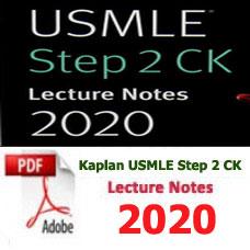 e-BOOK - Kaplan USMLE Step 2 CK Lecture Notes,2020